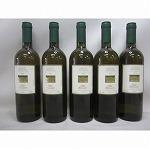 イタリア白ワインの代表品種トレビアーノの辛口2004年物5本セット